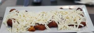 Tajadas con queso